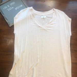 Lou & Grey Pink sleeveless tank - Medium